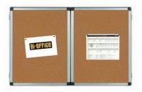 Prezentační magnetická otevírací tabule TRIO